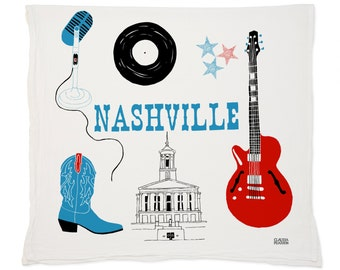 Nashville Tea Towel