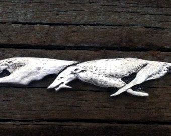 Greyhound Pewter Brooch