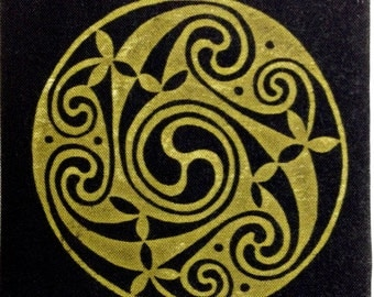 Celtic knot work quilting