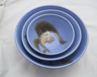 Ceramic Nesting Bowl Set