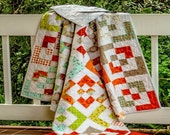 Broken Boxes Baby Quilt by MadCreekDesigns