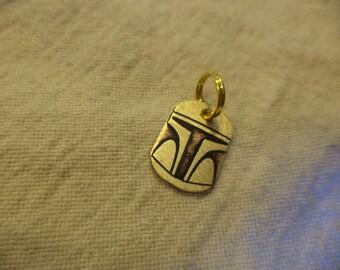 Star Wars inspired Brass Charm