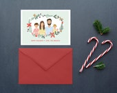 Custom Family Holiday Cards