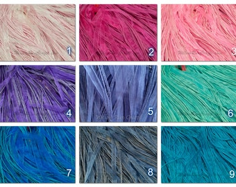 "100 Organza Ribbon Cord Necklaces 18"" Length, Pick your Colors."