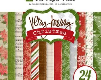 Echo Park 6x6 Paper Pad - Very Merry Christmas