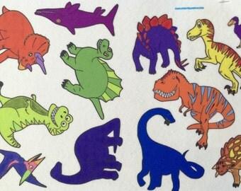 Dinosaur Play Felt Board Set- Dinosaur Galore.  Includes 12 dinosaurs. Felt Stories.