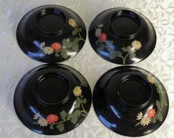 4 Japanese Bowl Lids