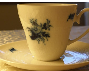 ROSENTHAL Demi Cup and Saucer with Original Labels