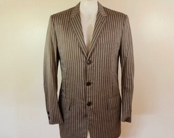 Vintage 1950's PALM BEACH Wash'n Wear sport coat C.W. Anderes Madison Wisconsin 38 regular