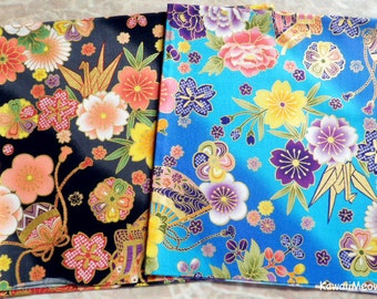 Japanese Fabric - Kimono 2 Fat Quarter Bundle Set - F224