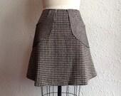 Donna a-line pocketed skirt Sz 8
