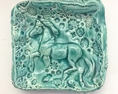 Horse Bowl - Ring Holder - Prep Bowl - Salt Cellar - Trinket Dish - Wedding Favor