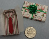 Holiday Sale 40% Off - Mini Gift Box with Shirt and Tie - 6