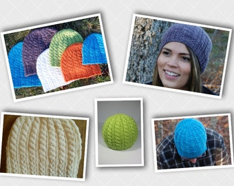PDF Knitting PATTERN - Blomidon Hiking Hat