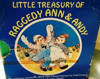 Vintage Books Little Treasury of Raggedy Ann & Andy: 6 Volume Boxed Set Johnny Gruelle by Corey Nash