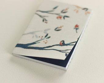 Blue Bird Pocket Notebook