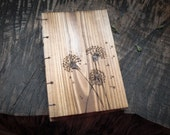 Dandelion Cedar Wooden Journal