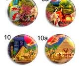 Needle Minder, Cross Stitch Keeper, Fridge Magnet, Aimee Stewart, Licensed Art, The Travel Bookself, Pattern Holder, Cross Stitch Accessory