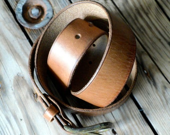 Leatherbelt OLD & RUSTY (upcycled)