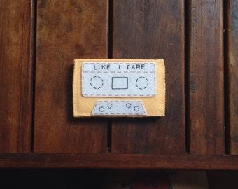 LIKE I CARE Cassette Tape