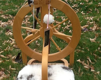 Sheepskin Treadle cover for Schacht spinning Wheels