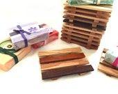28 Reclaimed Wood Soap Dishes - 1.07 each - LOWEST PRICES online - handmade in USA