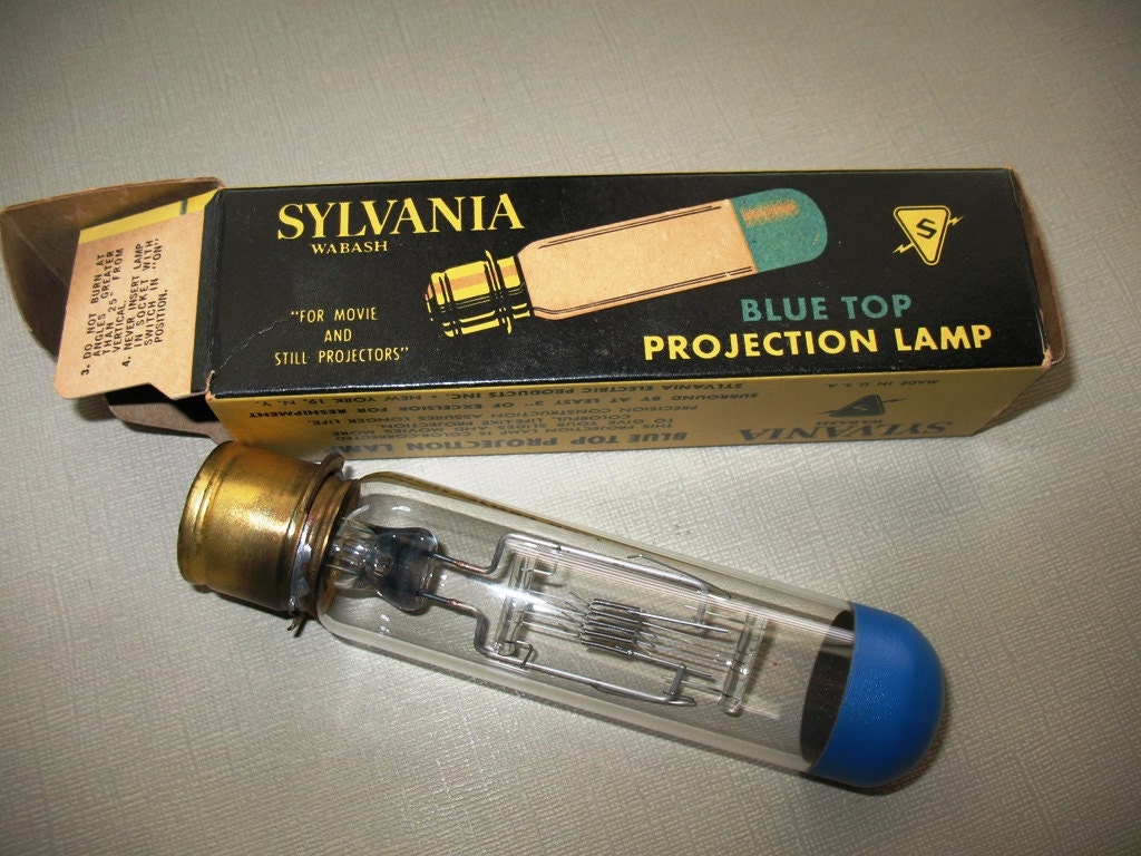 Sylvania Blue Top Projection Lamp Bulb 500w 120v By