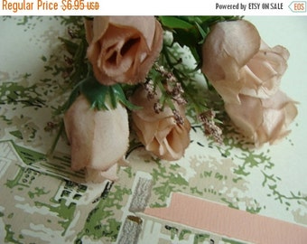 BIG SALE Absolutely Stunning Vintage Roses Stems