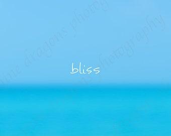 Spa Art Turquoise, Inspirational Print, Zen Decor, Motivational Print, Inspirational Art, Aqua Beach Art,Inspirational Wall Art,Blue Zen Art