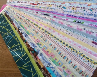 Forty plus Two Free Strips Jelly Roll Fabric Designs