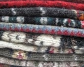 Beautiful Upcycled Wool Sweater Pieces, Sweater Wool,  Patterns, Ready to Repurpose, Small Projects, Sewing, Felting
