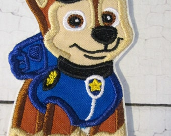 Puppies On Patrol - Embroidered Iron On or Sew On Custom Made Appliques