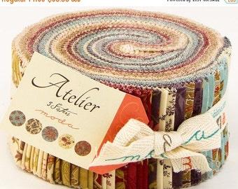 SALE Atelier Jelly Roll Fabric - 3 Sisters - Moda