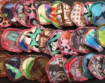MamaBear Cotton Rounds, Reusable Cotton Balls, Facial Rounds - Baker's Dozen