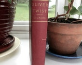 Oliver Twist by Charles Dickens (1812-1870) Preface by Dickens, an old copy of an old favorite