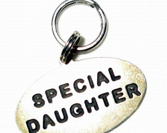 CHARM   - SPECIAL DAUGHTER  - Sterling Silver  charm99