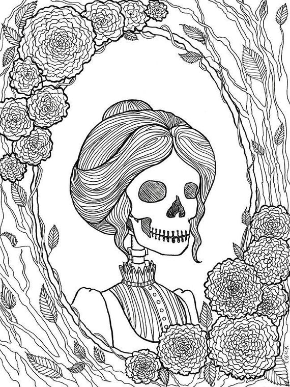 blank halloween coloring pages - photo#27