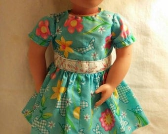 Butterfly dress for 18 inch doll