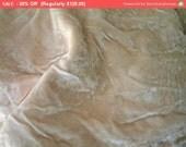 30% Off SALE- Fabulous Vintage Velvet Fabric Flapper 1920s Boudoir Shabby Bridal