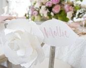 Pair of Huge Blooms for Bride & Groom Chairs