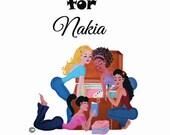 CUSTOM ART Listing for NAKIA (1 of 2)