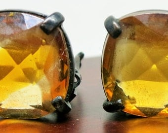 Vintage Clip On Earrings by Claudette