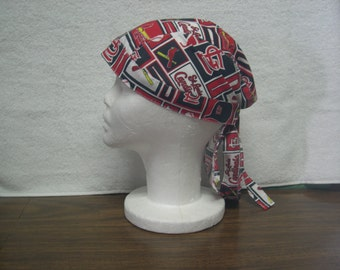 St Louis Cardinals Skull Cap Do-Rag NEW