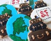 World travel cookies 1 dozen