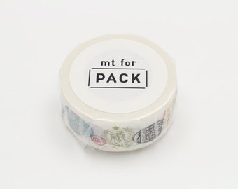 mt for pack - masking tape for packing -  japanese seal label