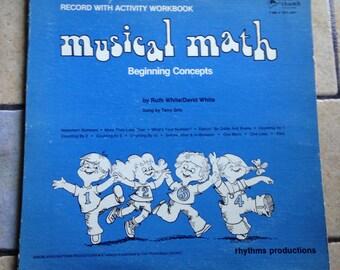 1978 Musical Math Vinyl Record by Tom Thumb Records