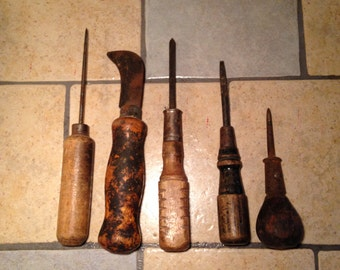 Instant Collection of Old Rusty Tools