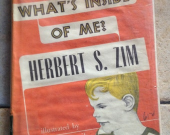 1952 What's Inside of Me Children's Book