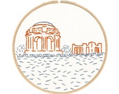West Coast Embroidery Kit Series - San Francisco's Palace of Fine Arts