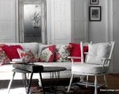 shabby chic vintage chair romantic farmhouse style